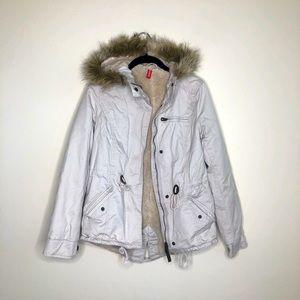 H&M Fleece lined Anorak jacket